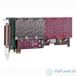 Digium AEX2400E PCI Express Card with HW EC no interfaces
